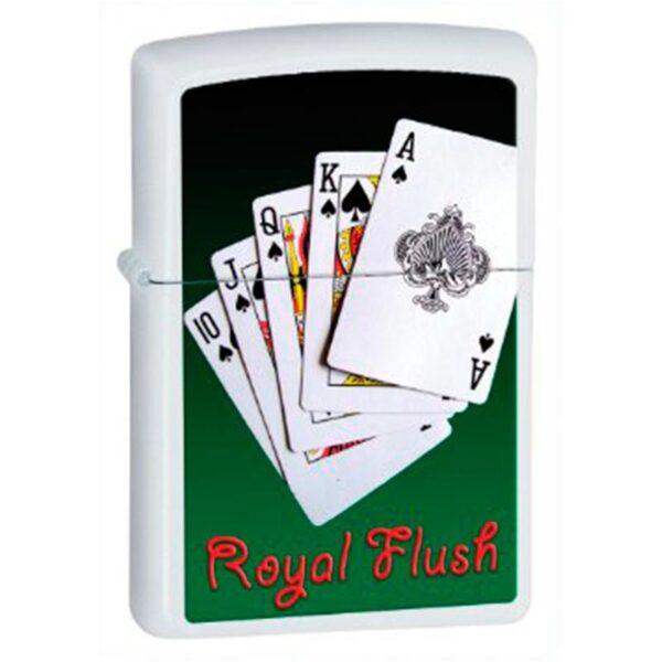 Zippo Royal Flush-0