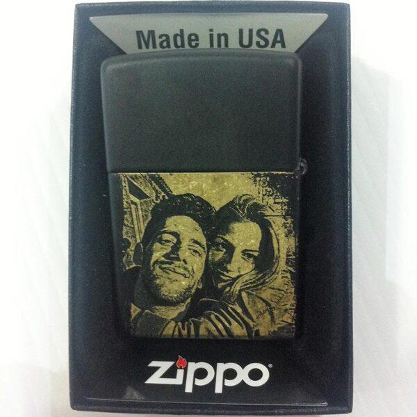 Zippo Reg Black/Z - BRDR-0