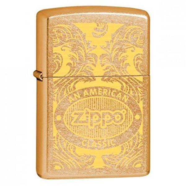 Zippo Scroll-0