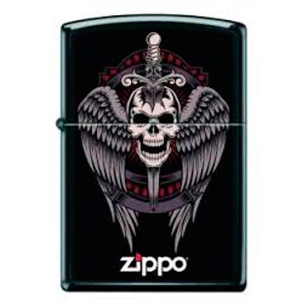 Zippo Winged Skull-0