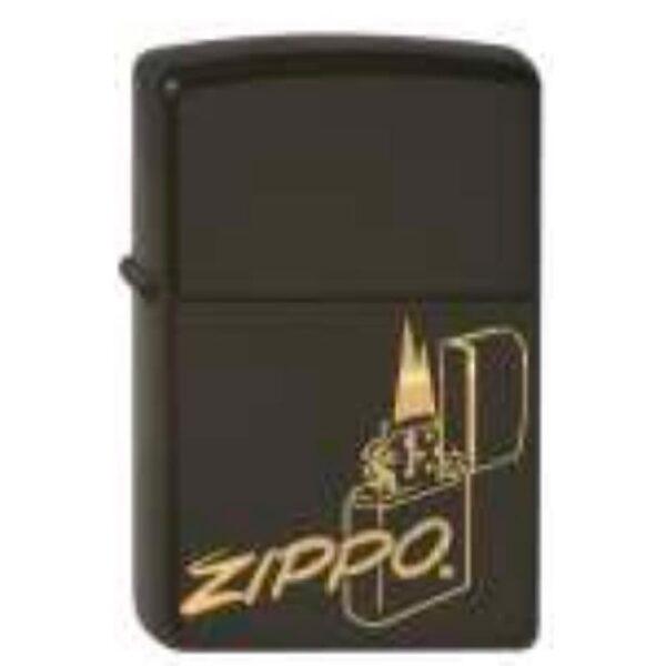 Zippo on Fire-0