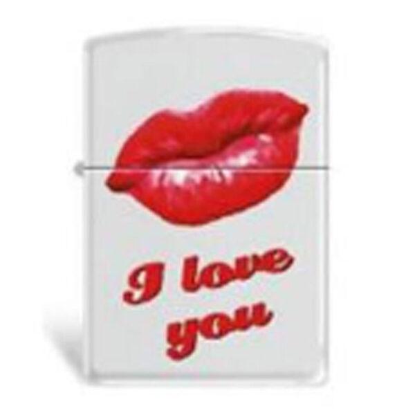 "Zippo 214 Kiss ""I Love You""-0"