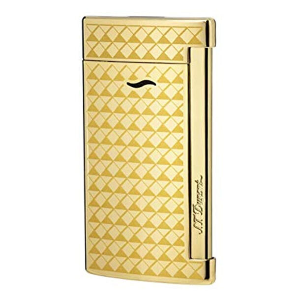 DUPONT Slim 7 Gold - Fire Head Design-0