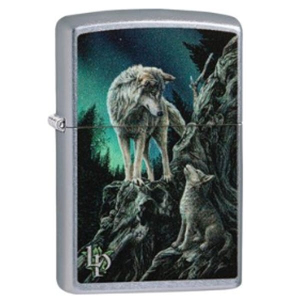 """ZIPPO """"Lisa Parker 2Wolfs Mointain""""-0"""
