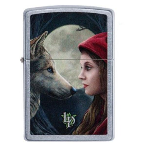 "ZIPPO ""Lisa Parker Wolf + Woman""-0"