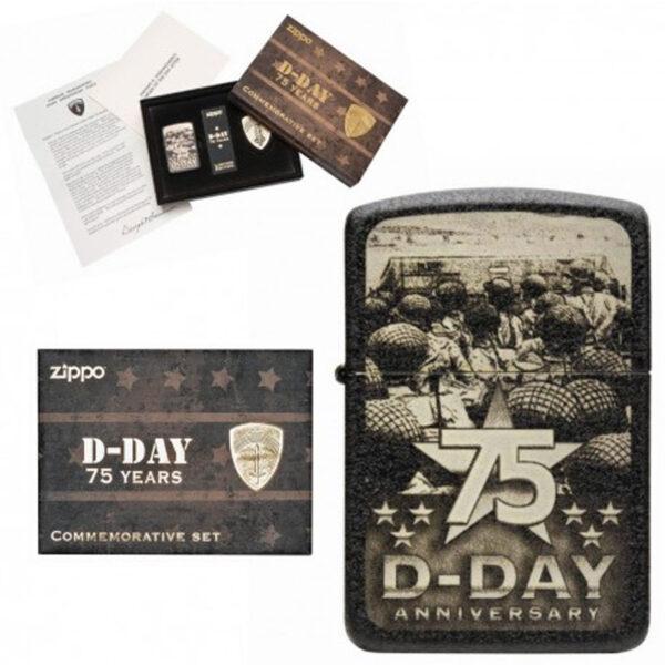 ZIPPO 75th Anniversary D-Day-0